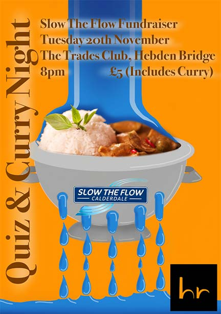 Hebden Royd Town Council News 2018 - Slow the Flow Fundraising Quiz